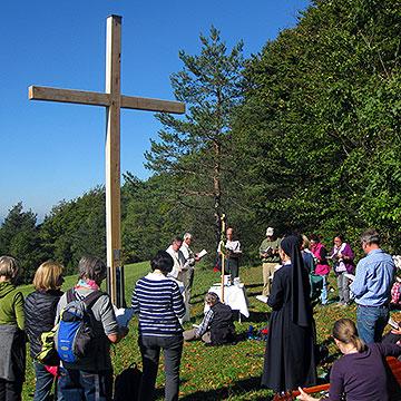 Pilgern von der Schönstatt-Kapelle Dietershausen aus
